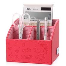 Desktop Remote Control Accept Box Stationery Office Storage