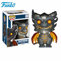 FUNKO POP WOW World of Warcraft Theme #32 Deathwing Action Figures Toy Collectible Model Vinyl Dolls