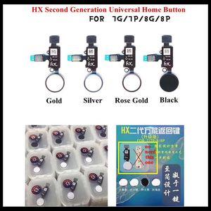 Image 2 - 10pcs HX 2nd Generation Universal Home Button Flex Cable 4 Colors for iPhone 7 / 7P / 8 / 8 Plus Return Home Function Solution