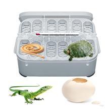 12-отсек Профессиональный рептилий ящик для инкубатора ящерица малая для разведения рептилий коробок продвинутая инкубатор дропшиппинг