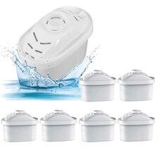 فلتر المياه ل إبريق الماء 6 قطعة/الوحدة المنزلية تنقية غلاية مباشرة مياه الشرب تصفية الكربون المنشط استبدال