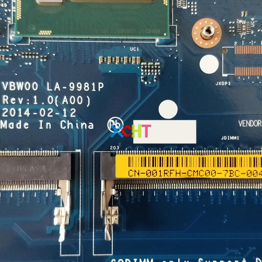 Image 3 - CN 001RFH 001RFH 01RFH LA 9981P w I7 4500U CPU 216 0841027 GPU for Dell Inspiron 15r 5537 NoteBook PC Laptop Motherboard Tested-in Laptop Motherboard from Computer & Office