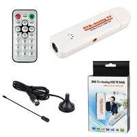 Koqit Desktop Laptop PC Digital TV Box USB Tuner DVB T2 DVB T DVB C Analog FM USB TV Stick HDTV VHF UHF Band DVB T2 Record