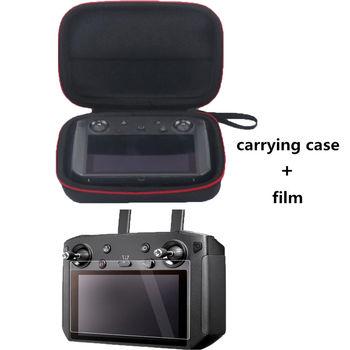 Smart Controller Storage Bag Portable Bag for DJI Mavic 2 Control Protective Screen Film for Smart Control Protective Box film