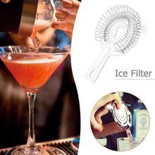 1 шт. шейкер из нержавеющей стали, фильтр для льда, дуршлаг, шейкер для коктейлей, смешанный фильтр для напитков, инструменты для питья, аксессуары
