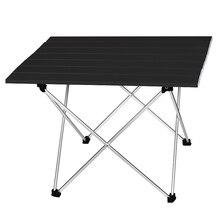 Taşınabilir masa katlanabilir yürüyüş masa piknik masa Ultralight açık katlanır masa