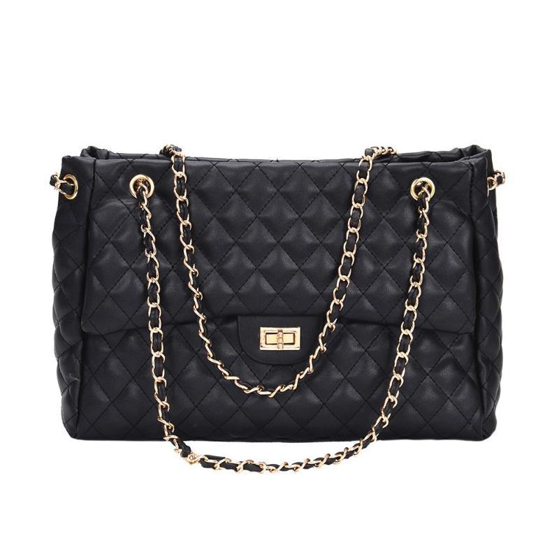 691f83bd9c6 2018 PU Leather Handbags Women's Designer Handbag The Big Women's ...