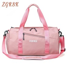 Women And Men Travelling Tote Bags Oxford Letter A Short Trip Portable Light Bag Large Capacity Fashion