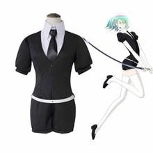 цена Land Of The Lustrous Phosphophyllite Cinnabar Diamond Bort Morganite Antarcticite Jumpsuits Suits Uniform Anime Cosplay Costumes в интернет-магазинах