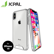 JCPAL iGuard DualPro Case for iPhone XR Ultra-thin Combines the Dual Protective Transparent Shell