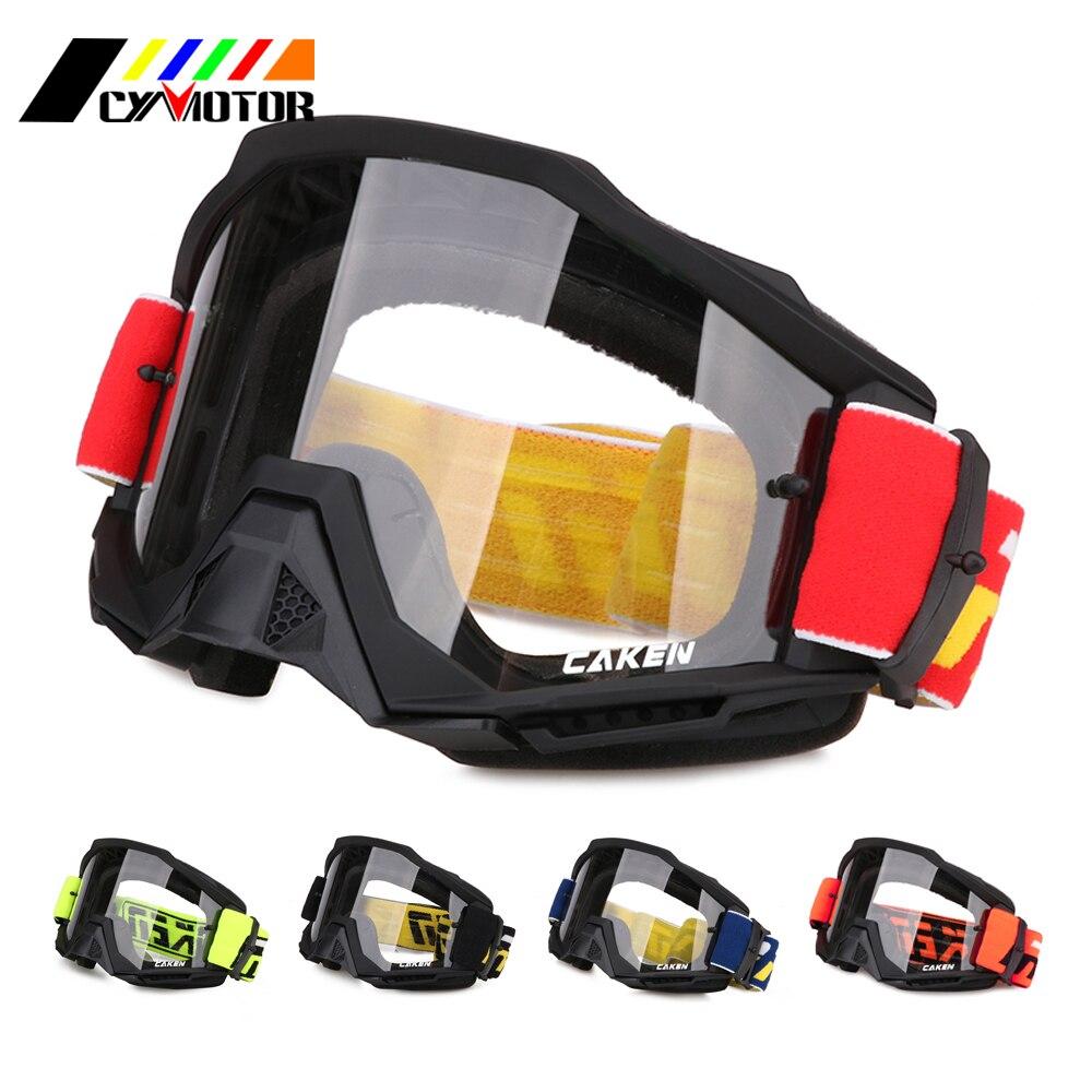 Lunettes universelles réglables de moto lunettes imperméables coupe-vent pour SUZUKI KAWASAKI HONDA KTM YAMAHA vélo de route hors route