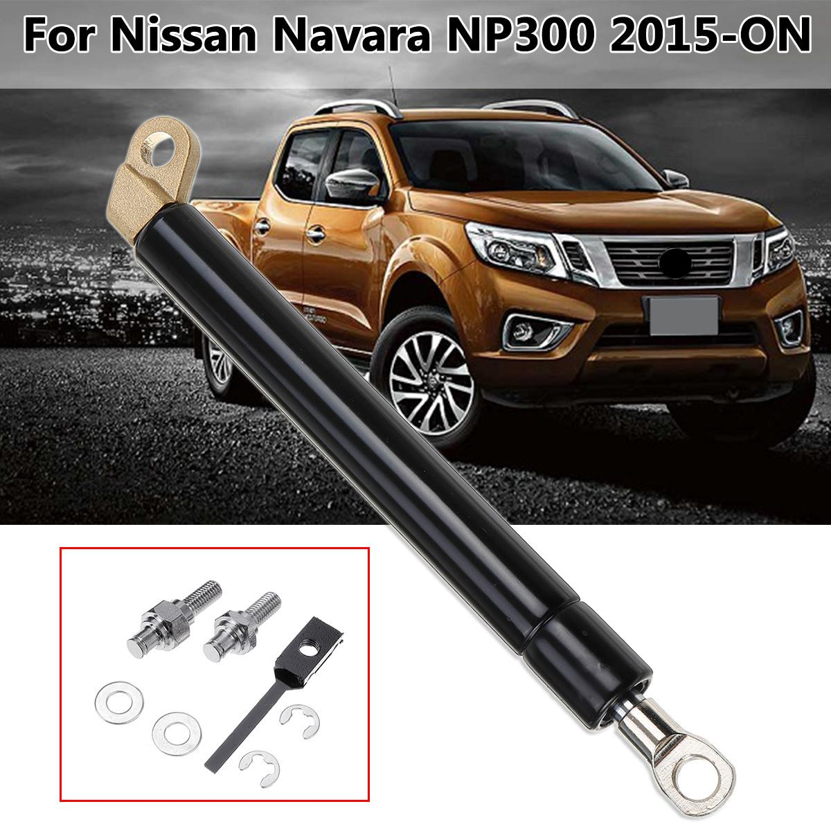 1 Pcs Traseiro Trunk Gas Strut NP300 Liftgate Bagageira Fácil Desacelerar Para Nissan Navara 2015-2019