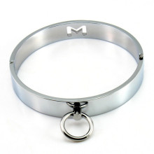BDSM Toys Stainless Steel Collar slave Metal Neck Collar Sex Slave Role Play Necklace For Women Feti
