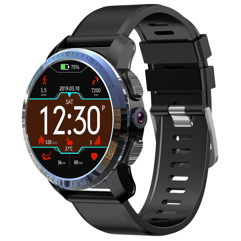 Kospet Optimus Pro 3Gb 32Gb 800Mah Battery Dual Systems 4G Smart Watch Phone Waterproof 8.0Mp 1.39 inch Android7.1.1 Smartwatc