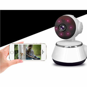 Image 4 - Mini WiFi monitor IP camera smart home security system. With 720P HD resolution Baby Pet Monitor CAMERA