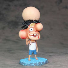 15cm Anime One Piece Grandista Figure The Grandline Men Monkey D Luffy Swollen Face Ver. Action Figures Collectible Model Toys one piece statue monkey d luffy bust the straw hat pirates the ape art craft gk action figure collectible model toy d227