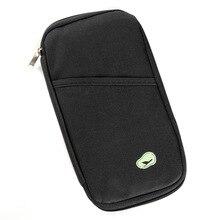 Manufacturer Direct Korean-Style New Style Multi-Function Travel Passport Card Holder Purse Wallet