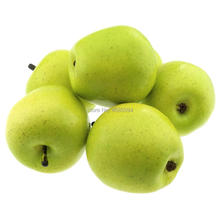 Gresorth 6pcs Artificial Green Apple Decoration Fake Fruit Home Party Holiday Decorative Food Toy Model