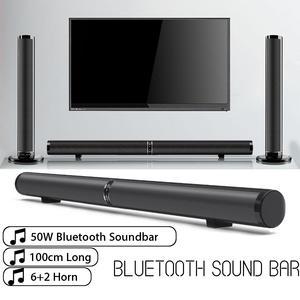 50W Wireless Bluetooth Soundbar Speaker