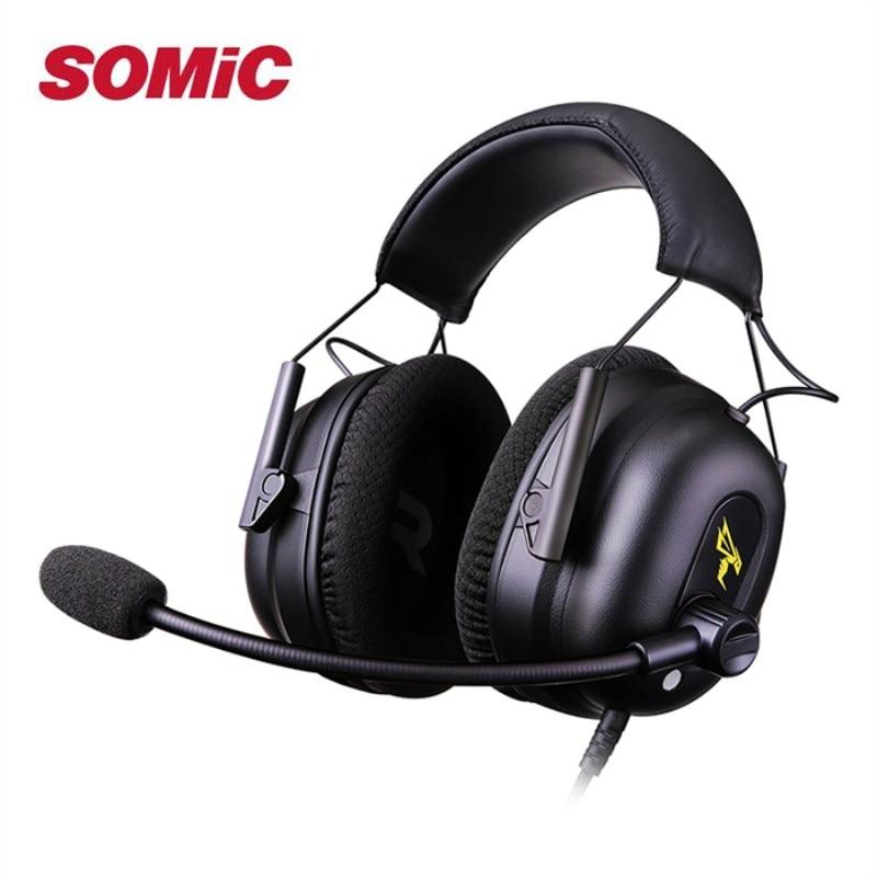 Somic G936N casque de jeu virtuel 7.1 Surround son casque de jeu avec micro USB bandeau casque sur loreille pour ordinateurSomic G936N casque de jeu virtuel 7.1 Surround son casque de jeu avec micro USB bandeau casque sur loreille pour ordinateur