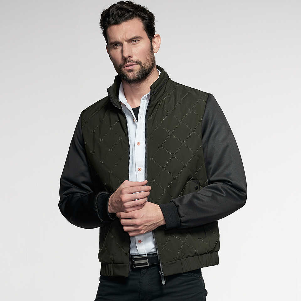 classic style of 2019 best selection of 2019 authentic quality Men 2019 Spring New Smart Casual Fashion Jacket Coat Men Brand Styles  Outfits Pattern Knit Sleeve Pockets Jackets Coats Men 5XL