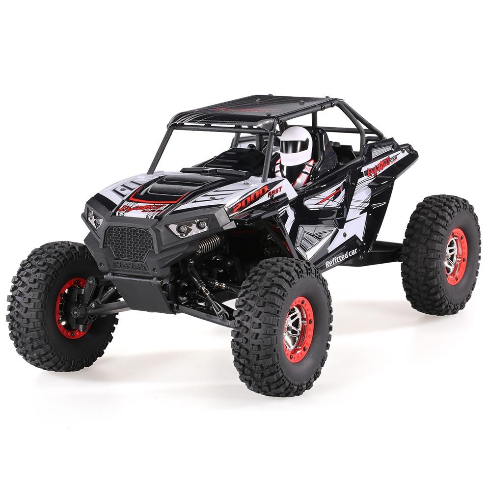 WLtoys 10428 B2 1/10 2.4G 4WD Electric Rock Crawler Off Road Car Buggy Desert Baja RC Car RTR Car