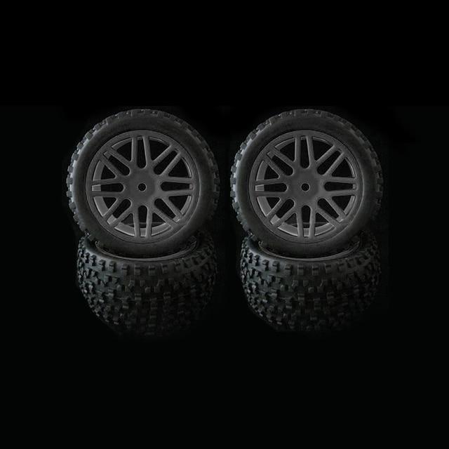 4 stücke Felge & Gummi Reifen Reifen Für RC 1/10 Off Road Auto Buggy Ersatz