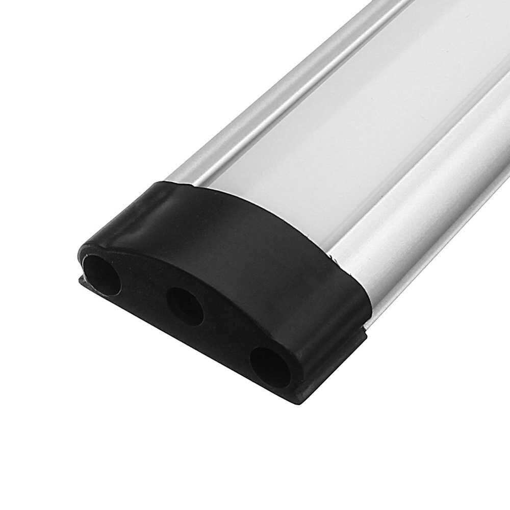 CLAITE 30/50 см молочно-белый прозрачный Алюминий профиль для светодиодной ленты для Светодиодные ленты Кабинет свет лампы