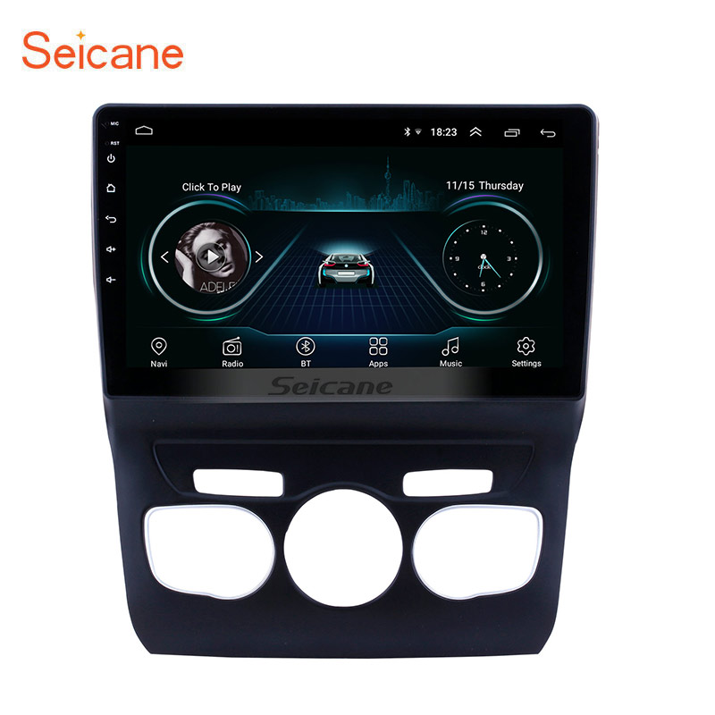 Seicane 10 1 HD touchscreen Android 8 1 GPS Navigation System Bluetooth Radio for 2013 2014