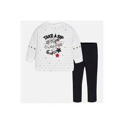 BÜRGERMEISTER babys Sets 8848887 Baumwolle Baby Mädchen Mode kleidung kostüm für mädchen leggings T-shirt