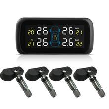 Универсальная автомобильная система контроля давления в шинах, с дисплеем, внутренние противоугонные датчики, монитор давления в шинах, в режиме реального времени, TPMS U903
