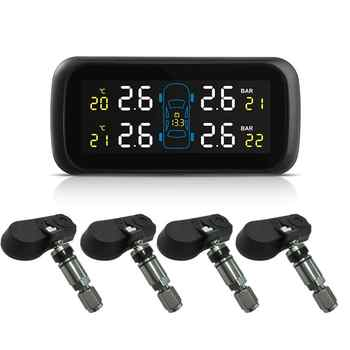 Universal Car TPMS Tire Pressure Monitoring System Display Internal Anti-theft Sensors Tire Pressure Monitor Real Time TPMS U903 - DISCOUNT ITEM  22% OFF All Category