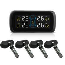 범용 자동차 tpms 타이어 압력 모니터링 시스템 디스플레이 내부 도난 방지 센서 타이어 압력 모니터 실시간 tpms u903