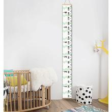 LanLan дети утолщаются холст Висячие высота измерительная линейка для детского сада комнаты декор 7,9x79 дюймов
