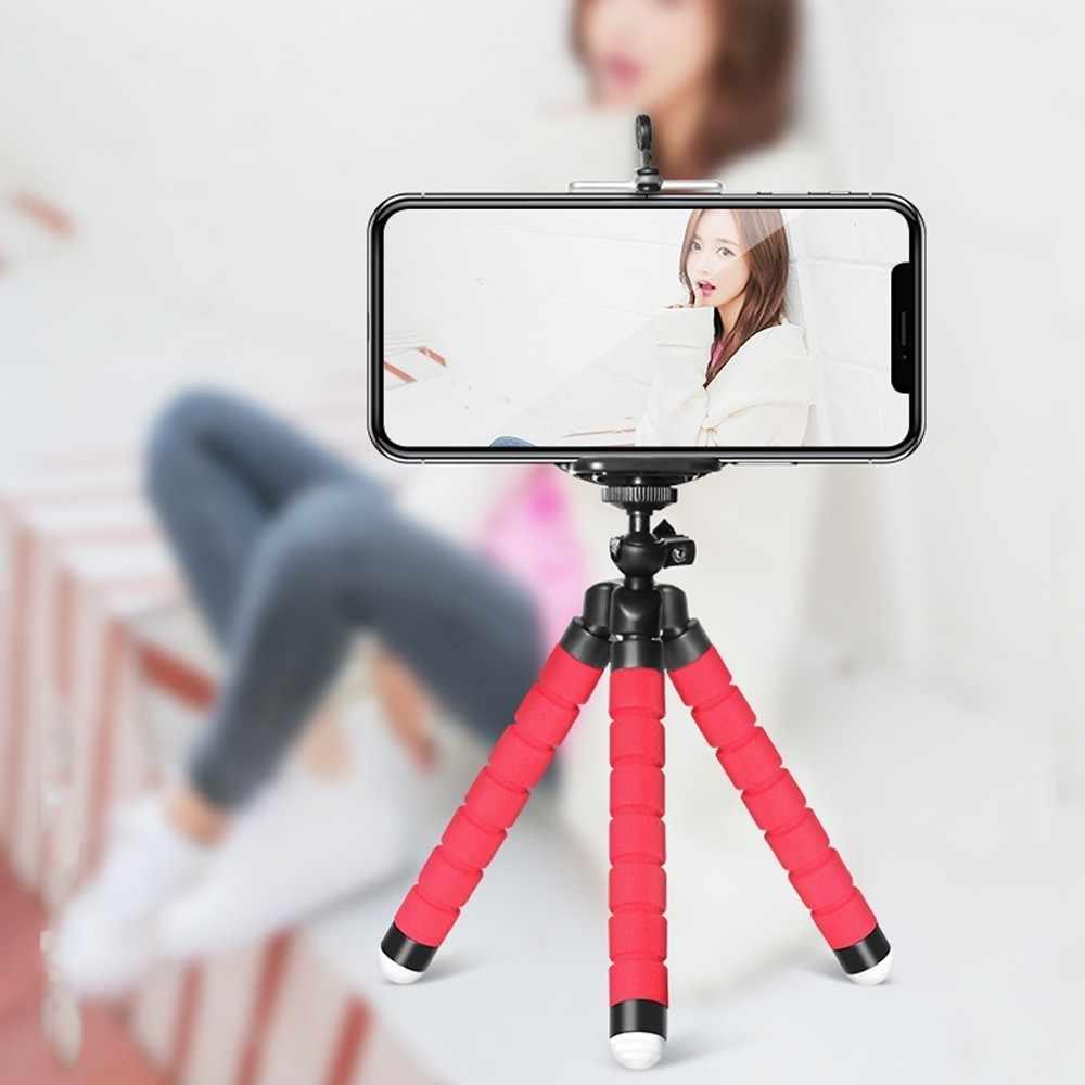 DUSZAKE Штатив для телефона настольный мини-штатив для камеры подставка пластиковый Гибкий Осьминог штатив Gorillapod для iPhone samsung Xiaomi