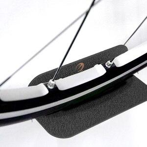 Image 2 - Portabiciclette nero portabiciclette pedale lucchetti supporto da parete per pneumatici supporto da parete per bici supporto per appendiabiti supporto per bicicletta