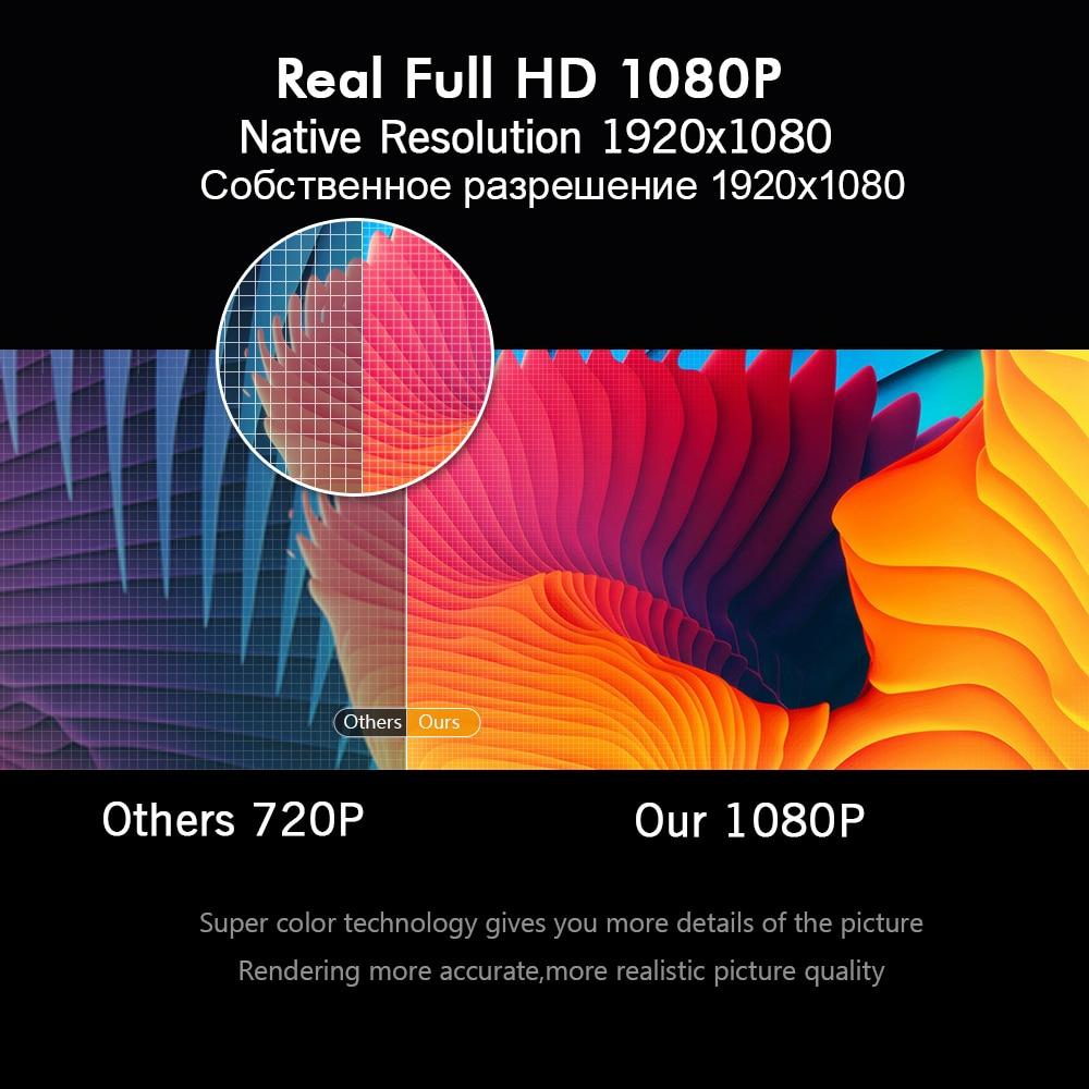 BYINTEK M1080 Smart Android 7.1 (2GB+16GB) Wifi FULL HD 1080P 1920x1080 Portable Video LED Home Mini Projector For Netflix