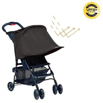 Kids Baby Stroller Black Rag Anti UV Shade Sun /& Rain Protective Cover