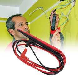1 пара 1000 V 10A иглы зонда для Универсальный цифровой мультиметр тестовый мультиметр направляющий штифт провод ручка кабель 82 см