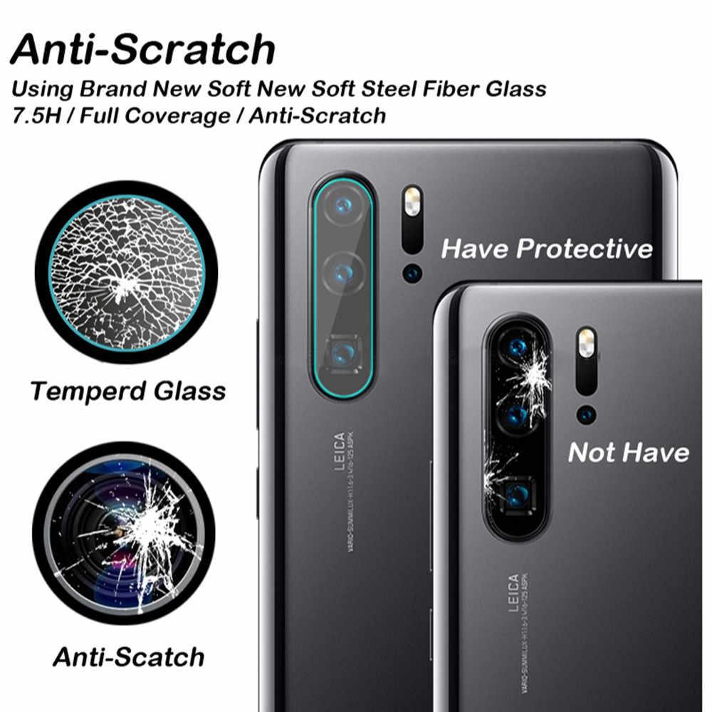 Para Huawei P30Pro P30 P20 amigo 20 10 Pro Lite Y9 2019 Honor 10 8x templado Cámara protector de lente película de vidrio HD Protector