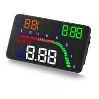 T100 4Inch OBD HUD Car Head Up Display Windshield Projector On Board Computer hud Display Car Electronics obd2 Car Speedometer