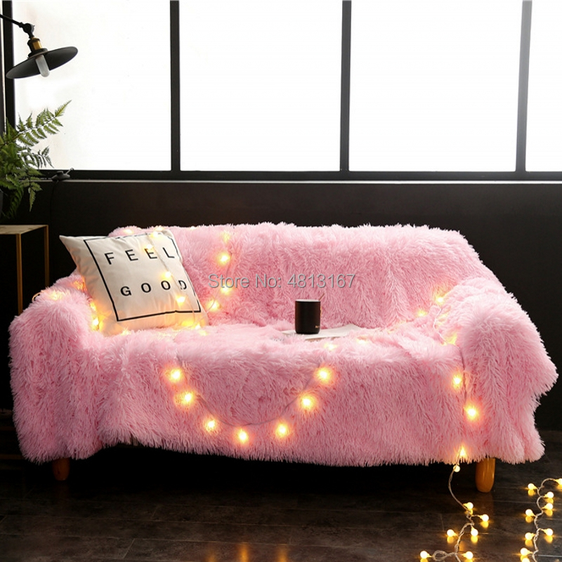 Magnificent Soft Long Shaggy Throw Blanket Bed Cover Sofa Bed Couch Forskolin Free Trial Chair Design Images Forskolin Free Trialorg