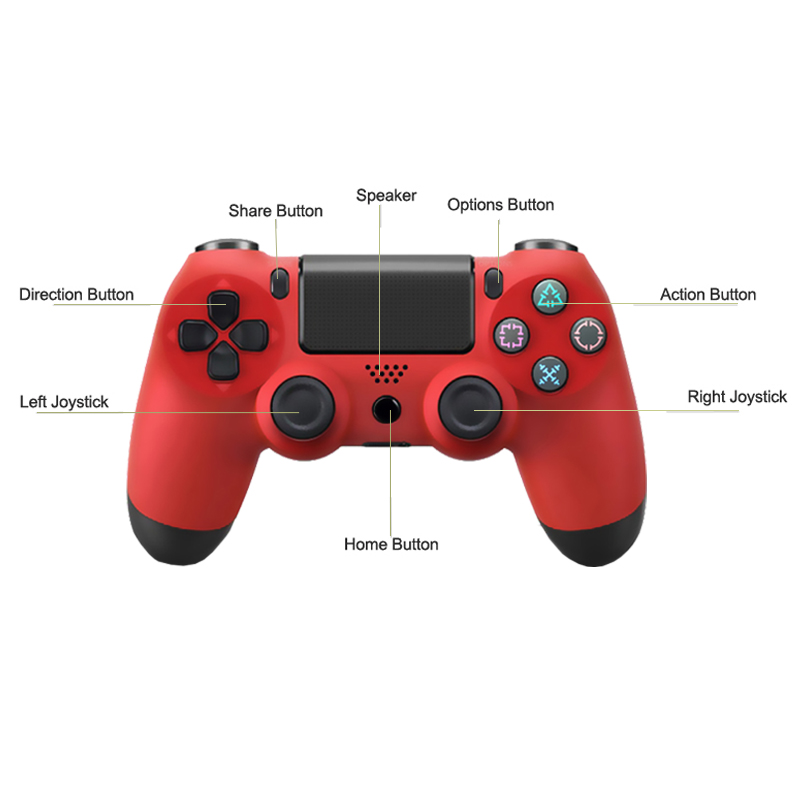 Powtree 5 Colors Bluetooth Controller For SONY PS4 Gamepad For Play Station 4 Joystick Wireless Console For Dualshock Controle in Remote Controls from Consumer Electronics