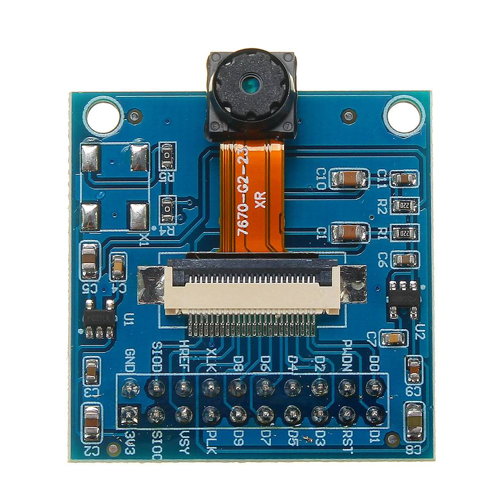 LEORY VGA OV7670 CMOS Camera Lens Module CMOS 640x480 SCCB With I2C Interface Adapter Plate Circuits