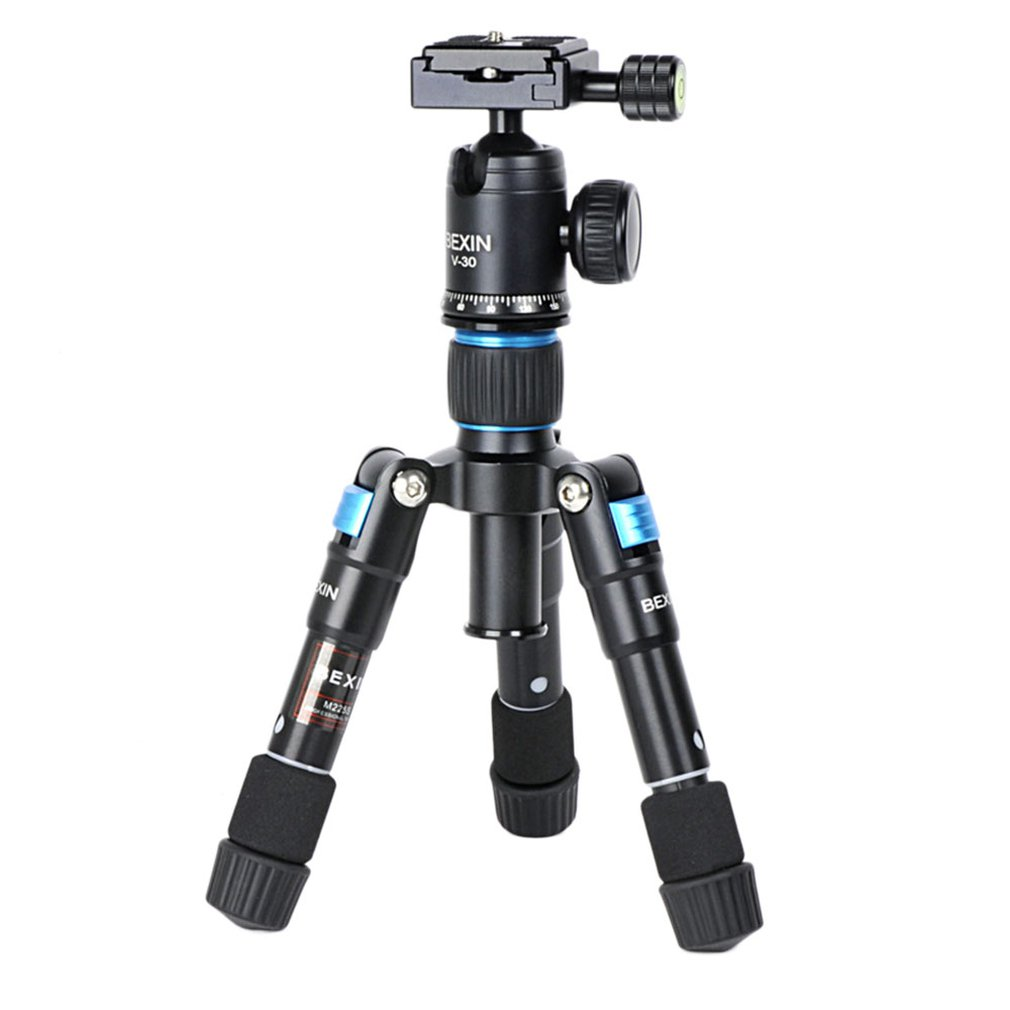 MS08 Desktop Profesional Camera Tripod Stand for Canon DSLR Camera Camcorder Mini Protable Tripod For Phone Camera