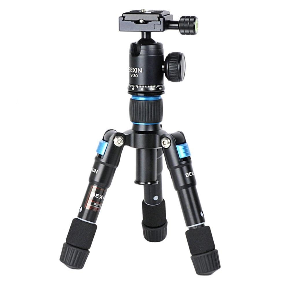 MS08 support de trépied d'appareil-photo professionnel de bureau pour Canon DSLR appareil-photo caméscope Mini trépied portable pour appareil-photo de téléphone