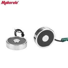 MK34/9 Mini Electromagnets For Sale Lifting 8KG/80N Holding Electric Magnet Solenoid Sucker Electromagnet DC 6V 12V 24V On