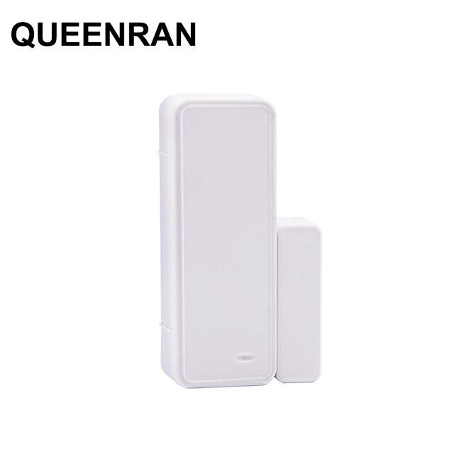 1/3/5/10 stücke 433 MHz Zwei weg Magnetische Sensor Drahtlose Tür Fenster Öffnen Schließen detektor Kontaktieren Alarm System Für GSM Home Security
