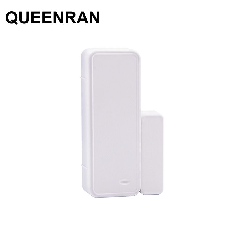 1/3/5/10pcs 433MHz Two-way Magnetic Sensor Wireless Door Window Open Close Detector Contact Alarm System For GSM Home Security