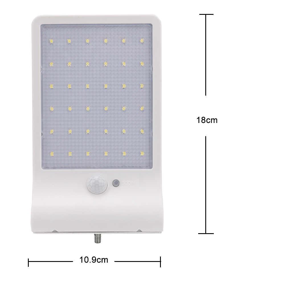 450LM Солнечный свет Открытый 36 светодиодный супер яркий солнечный светильник движения сенсор огни безопасности беспроводной водонепрони...